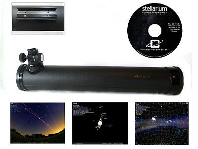 800mm X 80mm Telescope Tube with Primary +Secondary Mirror Cells & Stellarium CD