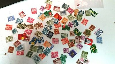 100 Switzerland Swiss postage stamps postal Collector