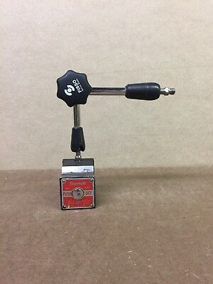 Starrett magnetic base With Fisso Articulating Arm
