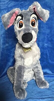 Disney Store Lady and the Tramp TRAMP plush,