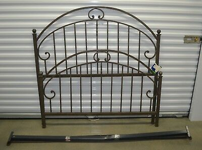 Ethan Allen Iron Full Double Bed Hoop Project Piece Sold