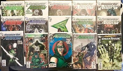 Green Arrow (New 52) 1-13,15 + One shot Special (14 missing for complete)