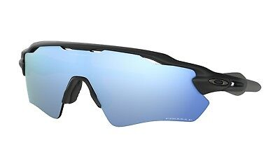 4de7f931f2 Oakley Radar EV Path Matte Black Polarized Prizm Deep H2O Sunglasses  OO9208-5538