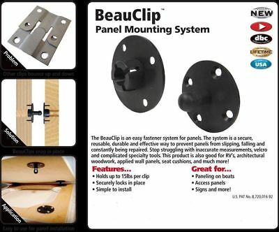 New Fastcap Beau Clip Panel Mounting Fastener System 25 PC.