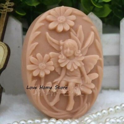 3D angel sunflower Hand Made Silicone candle Soap Molds Making Mould stand Cake