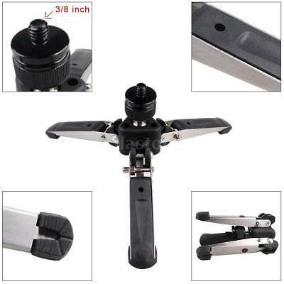 """Universal Three-Foot Support Stand Monopod Base for Tripod DSLR Camera 3/8""""Screw"""