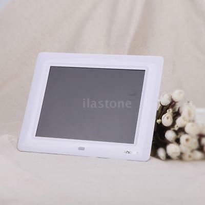 """7"""" HD LCD Digital Photo Picture Frame Clock Movie Player+Remote Contorl J0O9"""