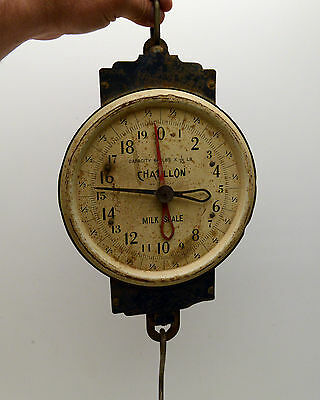 Vintage Country Store Scale chatillon milk scale