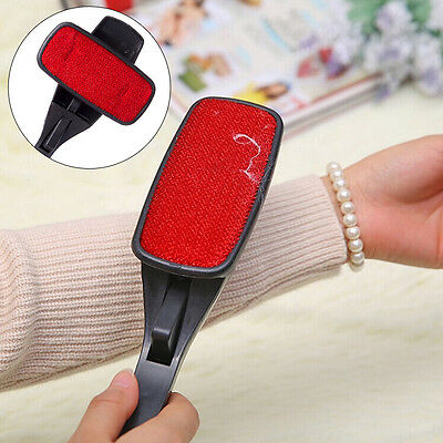 Rotating Lint Brush Fabric Pet Hair Remover Fluff Dust Clothes Sofa Cleaning-UK