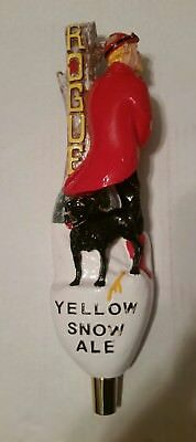 Rogue -Yellow Snow Ale -Tap Handle -used- Rare in good shape