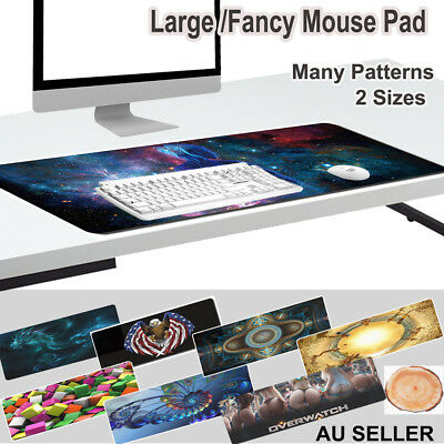 Extra Large /Fancy Mousepad Keyboard Pad Mouse Mat Desktop Game Laptop Computer