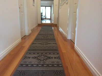 Hallway Runner Hall Runner Rug Modern Grey 5 Metres 212042 We Can Cut To Size