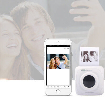 Mini Pocket Bluetooth Thermal Picture Photo Printer For PHONE Portable TRAVEL
