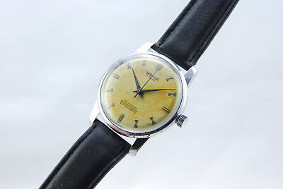 Wega 1958 Swiss Made Art Deco Vintage Collectors Classic Dress Watch Rare Dial