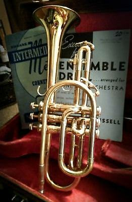 Cleveland Superior trumpet by King 1960 Vintage w/ Case, Music, Stands