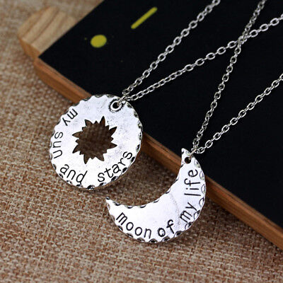His and Hers Khal Khaleesi Necklaces Game of Thrones moon of my life necklace
