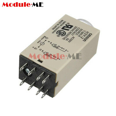 H3Y-2 220VAC 8P 0-30 Minutes Timing Delay Range DPDT Relay Timer UK
