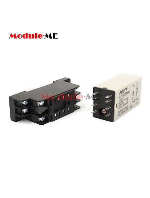 110VAC DPDT 8 Pin 0 -30 Seconds Timing Time Delay Relay H3Y-2 Solder UK