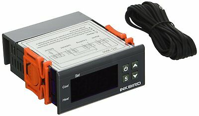 Inkbird ITC-2000 One Relay and One Alarm Output Digital Temperature Controller,