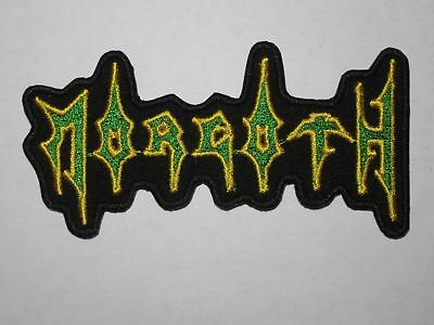 MORGOTH logo embroidered NEW patch death metal