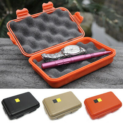 Outdoor Waterproof Shockproof Storage Airtight Survival Container Carry Case TP