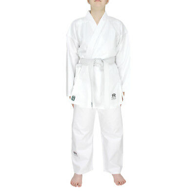 Sultan Adulti 100% Cotone Studente Karate Suit Uniforme Karategi Bianco 190-200G