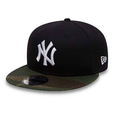 New Era Mens 9Fifty Baseball Cap.new York Yankees Team Camo Snapback Hat 530 8S1