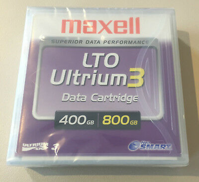 MAXELL LTO ULTRIUM 3 Data Cartridge 400/800GB NEU & OVP