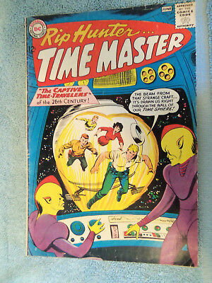 DC Rip Hunter Time Master #14 June 1963