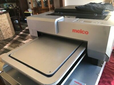 Melco G3 DTG (Direct To Garment) Textile Printer will print on dark colors