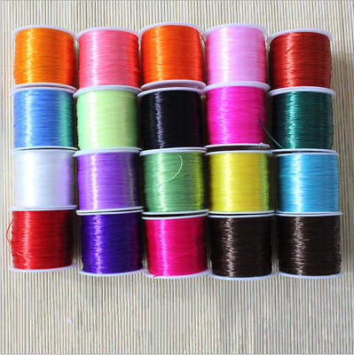 Strong Stretchy Elastic Crystal String Cord Thread For Diy Bracelet Necklace 30m