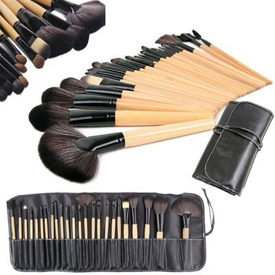 24 Pcs Professional Make Up Practical Tools Soft-Hair Do Not Fall Off Brushes