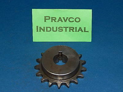 """50B17 SPROCKET   #50 CHAIN 17 TOOTH  1 9//16/"""" BORE WITH KEY WAY"""