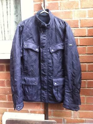 Barbour International Ariel polar quilt quilted Country designer jacket size S