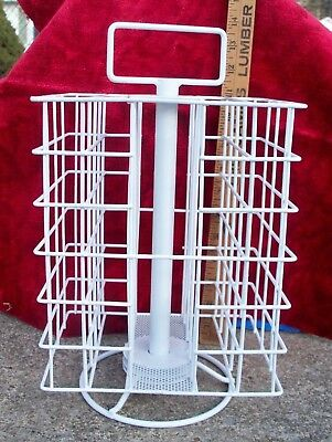 """Small Table Top Counter Display Rack 13 1/2"""" tall Revolving, Spins, Carousels"""