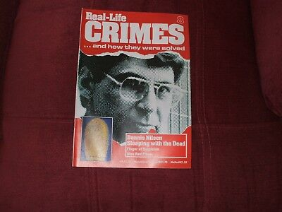 Real-Life Crimes Magazine Issue 8 Dennis Nilsen Sleeping With The Dead