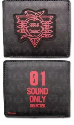 GE Evangelion New Movie Sound Only Bifold Wallet Official US Seller Authentic