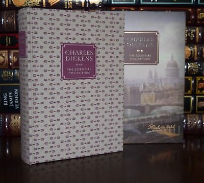 Essential Collection by Charles Dickens New Sealed Deluxe Hardcover in Slipcase