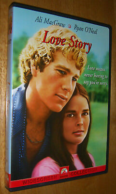 Love Story (DVD, 2001, Widescreen  Ali MacGraw & Ryan O'Neal