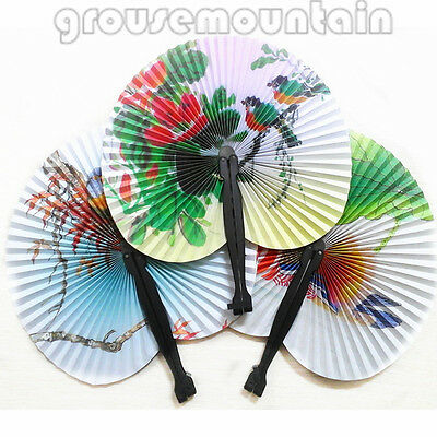 Fan Retro Oriental Hand Held Folding Paper Fans Wedding Gifts Folding Fan Gift