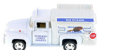 Vintage 1956 Ford F-100 Ice Cream Truck (O) Scale 5.5'' length  New no box! !