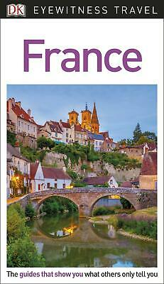 DK Eyewitness Travel Guide France by DK Travel Paperback Book Free Shipping!