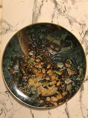 Bill Bell Limited Edition Franklin Mint Plate St. Catrick's Day Heirloom