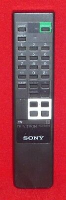 Original Genuine Sony Trinitron Tv Remote Control Rm-687B