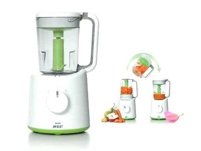 Philips AVENT combined baby food steamer and blender processor