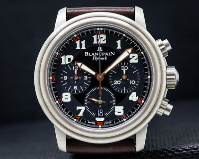 Blancpain 2185F-1230A-63B Flyback Chronograph 2185F1230A63B EXCELLENT CONDITION!