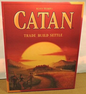 Settlers of Catan Board Game 5th Edition FREE SHIPPING, NEW