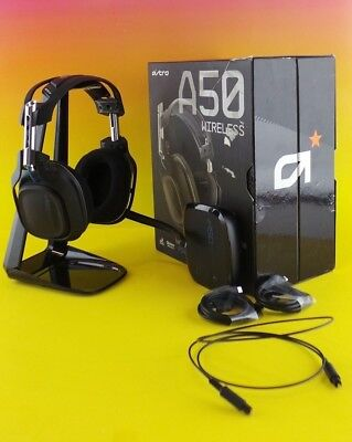 ASTRO Gaming A50 - Black Gen 2 for PS Wireless Gaming Headset / Used/Read #GeUs8