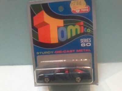 78 TOMICA TOYOTA COROLLA  on Blue card MADE FOR G.J COLES  MELBOURNE AUSTRALIA