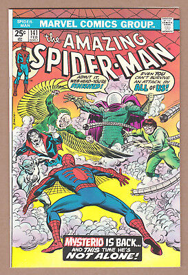 Amazing Spider-Man #141 - Marvel (February 1975) - 7.5 Vf- Condition